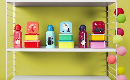 Tulipop lunchbox and bottle lifestyle