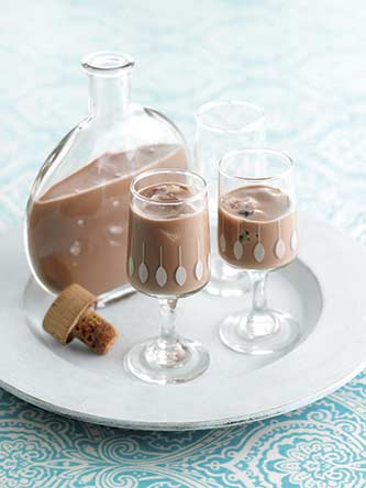 Chocolate cherry liqueur