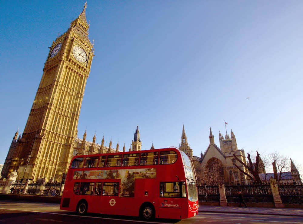 Big Ben Bus Tour London