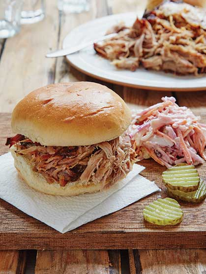 MAPLE AND MUSTARD PULLED PORK
