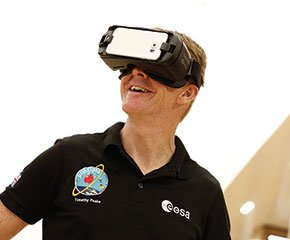 SPACE DECENT VR WITH TIM PEAKE