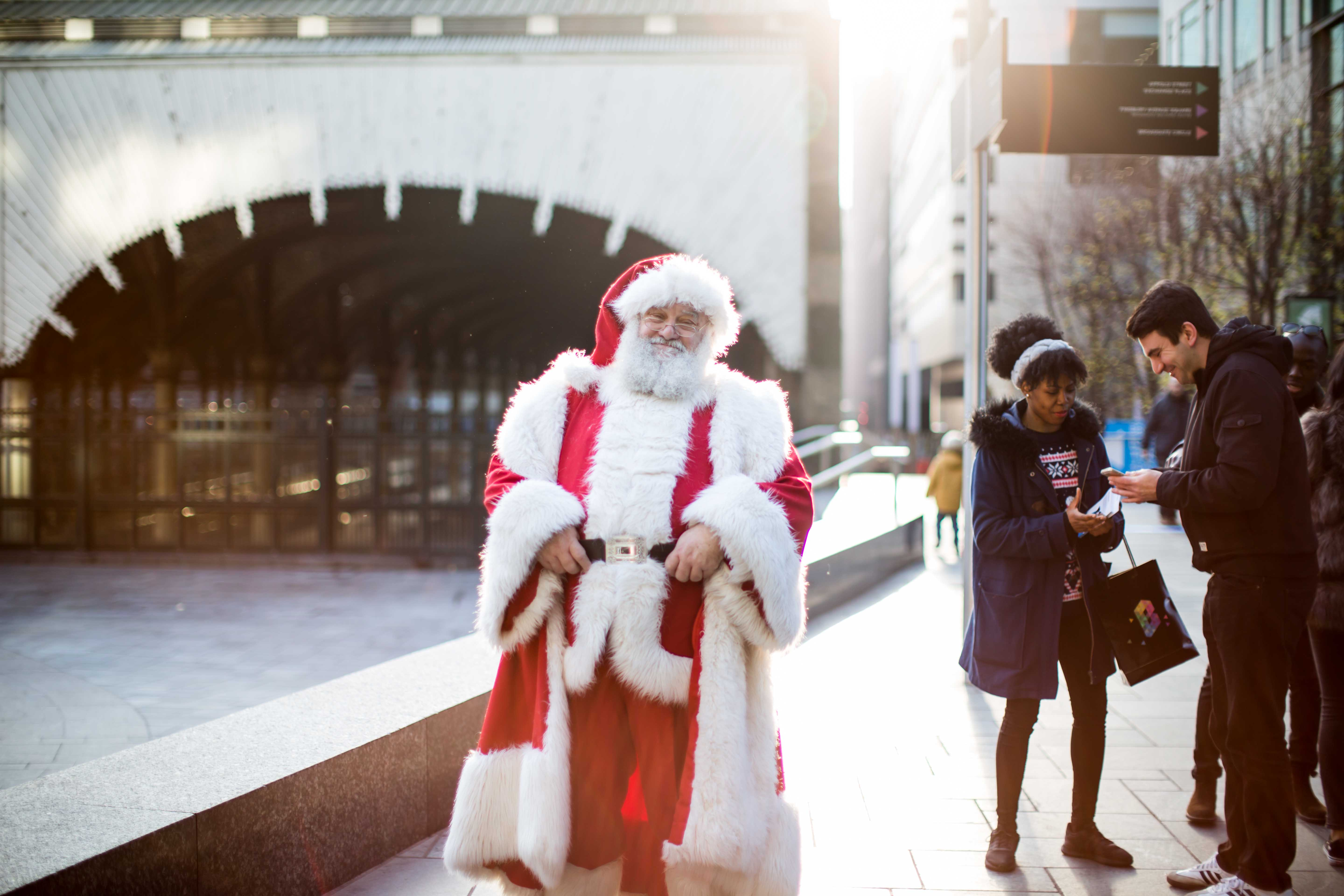 46950eb7a11d9 Broadgate Santa at The Winter Forest