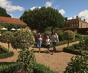 MOTHER'S DAY AT HAM HOUSE