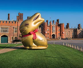 THE LINDT EASTER EGG HUNT