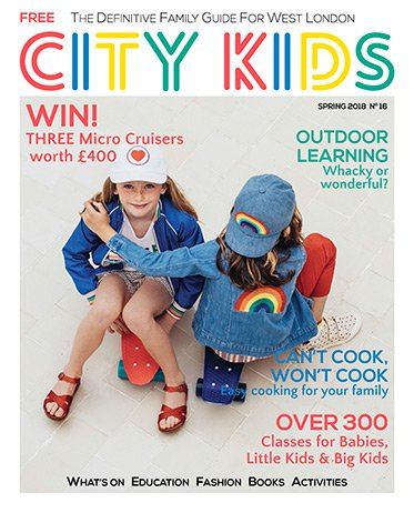 City Kids Magazine Winter 2017/18 - Issue 15