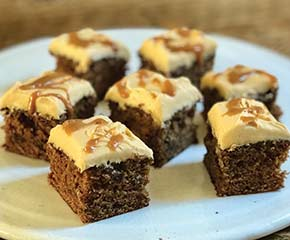 STICKY TOFFEE TRAY BAKE
