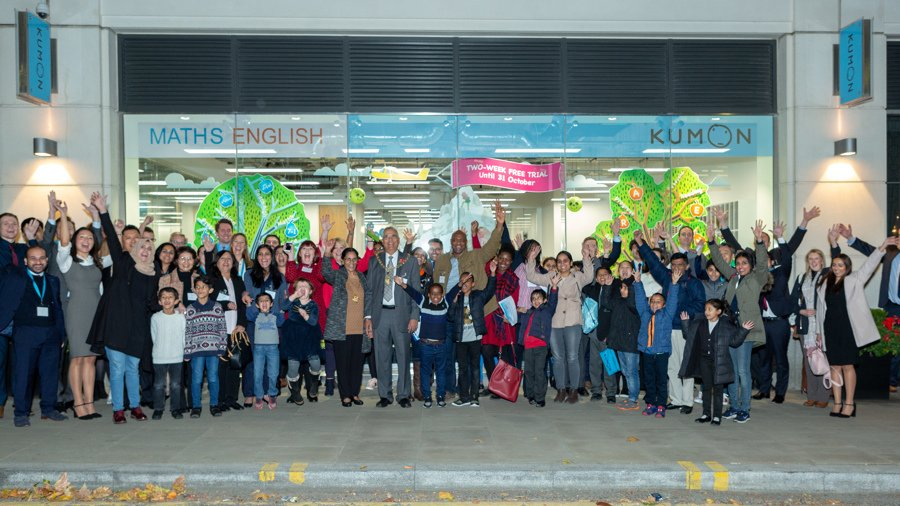 Kumon centre opens in Ealing