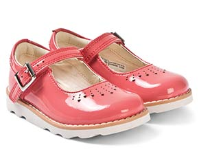 CORAL PATENT CROWN JUMP MARY JANES