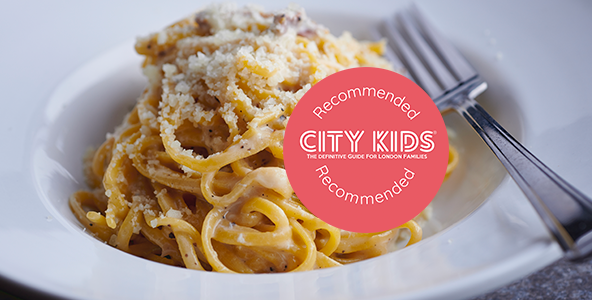 Pasta Remoli recommended by City Kids Magazine