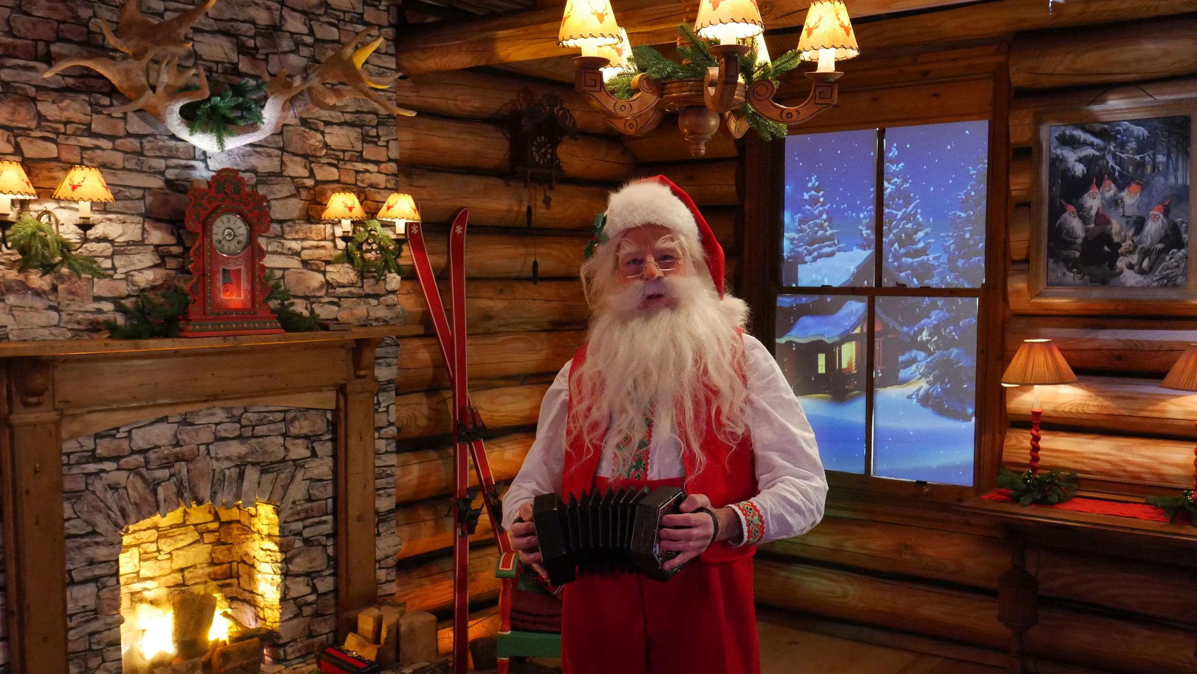 Sing with Santa