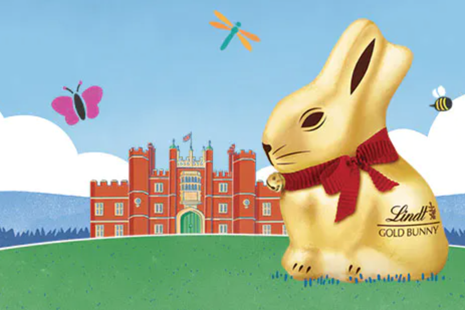 Easter Lindt GOLD BUNNY Hunt